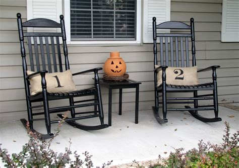 front porch rocking chairs plant decorating ideas for an antique sewing machine ehow