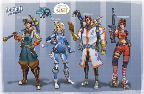 [concept Art] A Concept Artist's Take On The Idea Of Skins