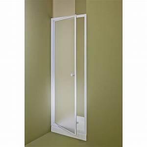 porte de douche pivotante 68 71 cm profile blanc primo With porte douche bricomarché