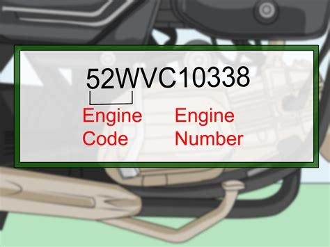 het chassisnummer en de motorcode vinden wikihow