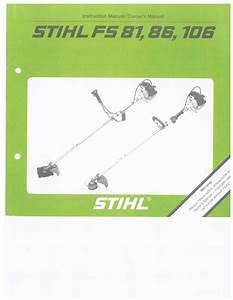 Stihl Fs 81 Parts Diagram