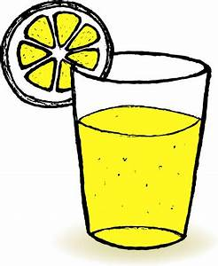 Hand drawn lemonade with glass cup vector Free vector in