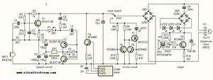 A Project Of Telephone For Voip Gate Circuit Diagram