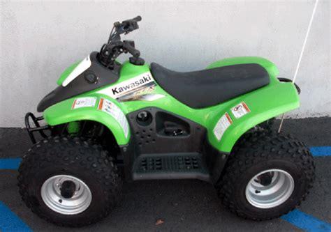Kawasaki Kfx50 by 2003 Kawasaki Kfx50 Mint
