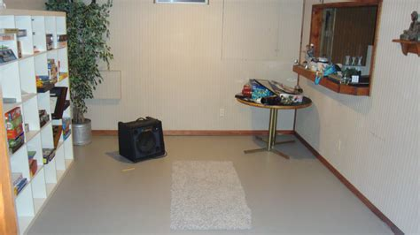 painting concrete basement floor ideas for small and