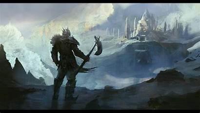 Viking Fantasy Wallpapers Norse Warrior Stronghold Vikings