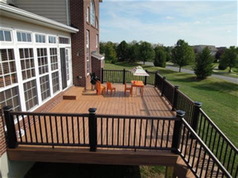 trex transcend composite deck traditional deck