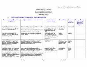 15 best images of sample career development plan worksheet With template for quality improvement plan