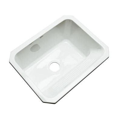 Undermount Laundry Sink Home Depot by Thermocast Kensington Undermount Acrylic 25 In Single