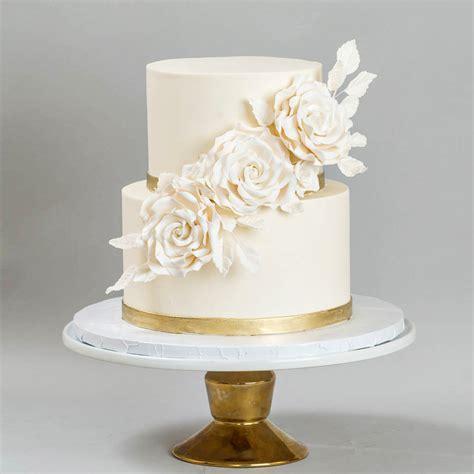 white and gold cake wedding cakes blue lace cakes 1294