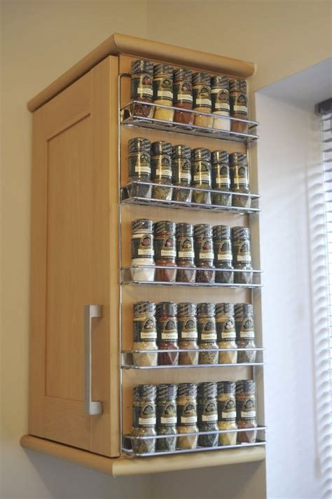 spice cabinet wall mount beside the cabinet wall mounted spice rack with wire