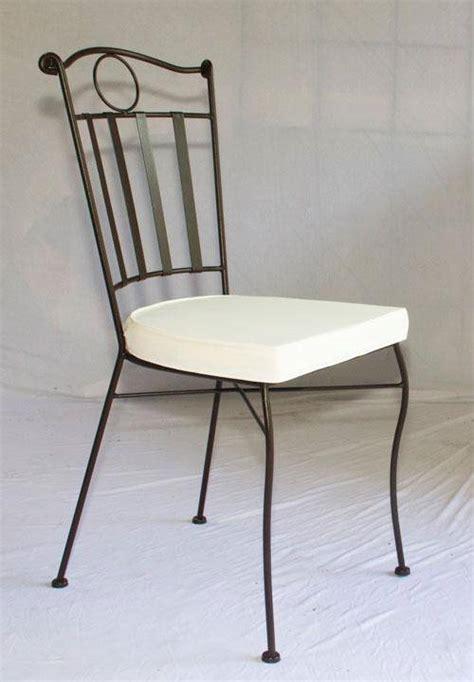chaise confort en fer forg 233 plein table jardin mosa 239 que