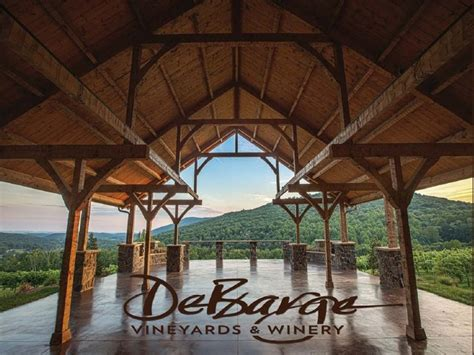 debarge winery vineyards wedding ceremony reception