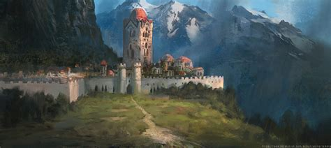 Tales Of Zestiria Wallpaper Medieval Buildings And Towns For Concept Art Inspiration