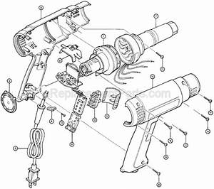 Makita Hg1100 Parts List And Diagram   Ereplacementparts Com