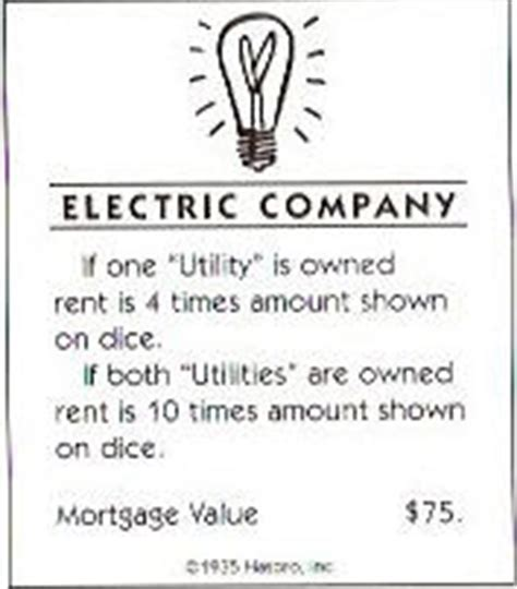 And electric company/water works utilities added in 2014). Board Games Blog: Alternative Monopoly rules and game elements (final part)