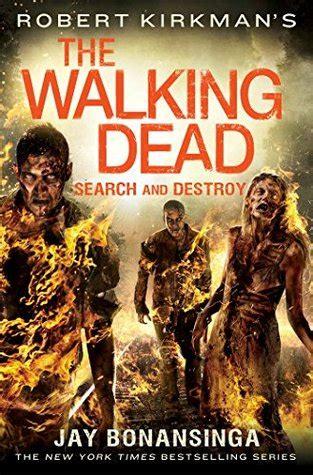 search  destroy  walking dead   jay bonansinga
