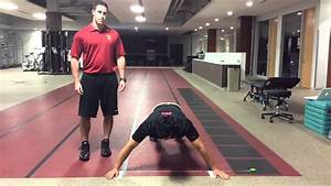 Closed Kinetic Chain Upper Extremity Stability Test