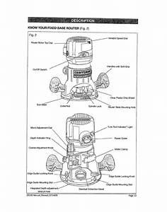 Page 13 Of Craftsman Router 320 2819 User Guide