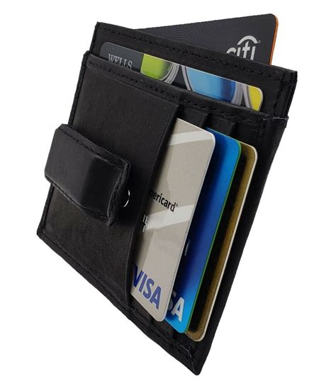 Maybe you would like to learn more about one of these? Men's Leather Slim Money Clip Front Pocket Wallet Thin Credit Card Holder New   eBay