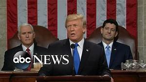 President Trump delivers his first State of the Union ...