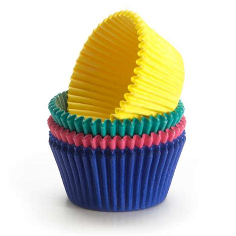 solid color cupcake papers