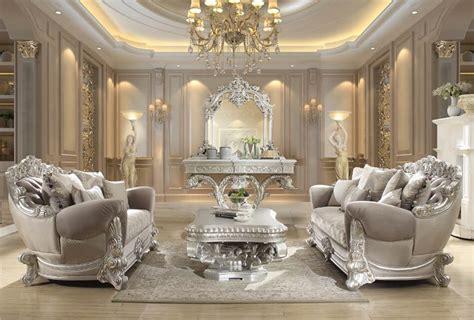homey design hd  prosper formal living room set