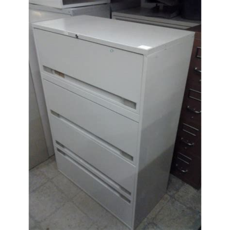 Lateral Locking File Cabinet by Beige 4 Drawer Lateral Locking File Cabinet 36 Quot X 18 Quot X 53