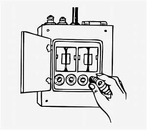 Household Electrical Fuse Box