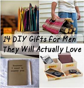 14 DIY Gifts for Men They Will Actually Love ! Home