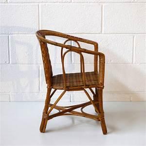 Fauteuil Osier Enfant : fauteuil enfant osier la marelle mobilier vintage pour ~ Teatrodelosmanantiales.com Idées de Décoration