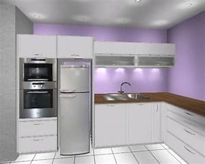 Side By Side Kühlschrank In Küche Integrieren K Chen Schreinerei