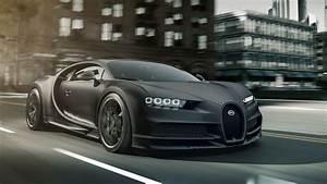 2020 Bugatti Chiron Noire Special Edition