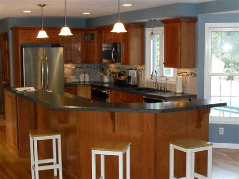 G Shaped Kitchen Designs   KITCHENTODAY