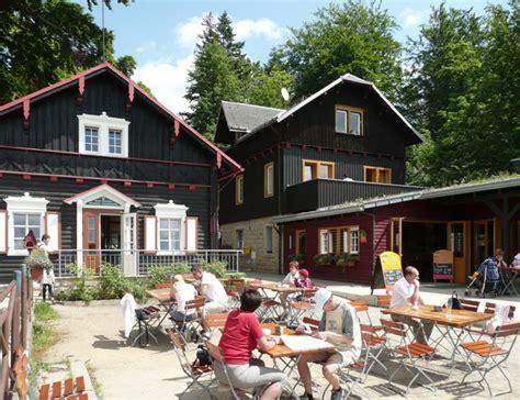 Nd Sachsische Schweiz Blick Auf Den Berggasthof