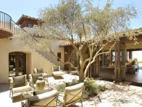 style homes with courtyards photos hgtv