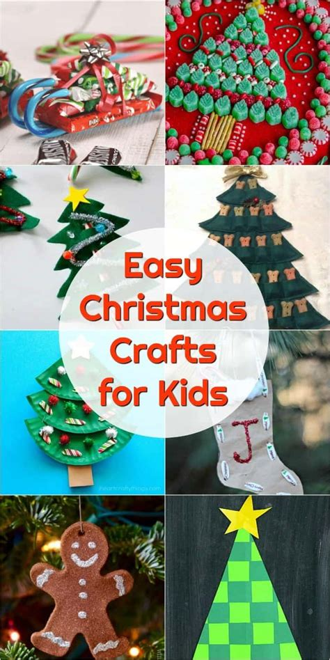 easy christmas crafts ideas  pinterest