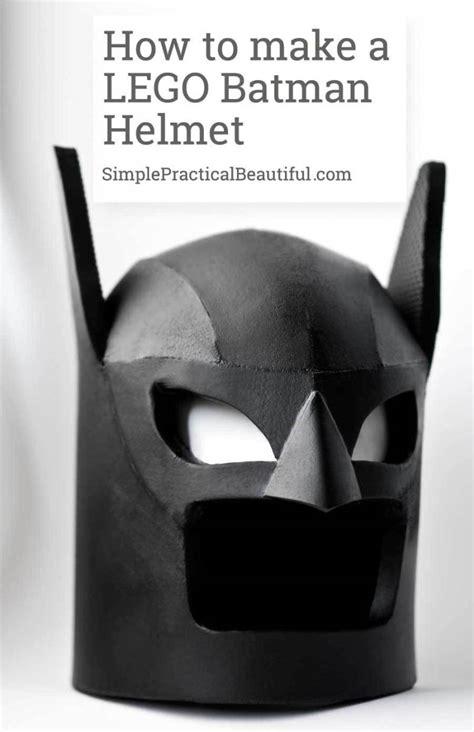 lego batman helmet simple practical beautiful