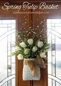 Over, 27, Diy, Easter, And, Spring, Wreath, U0026, Door, Decorations