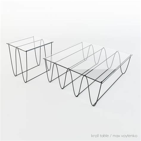 kroll furniture 個性曲線 kroll系列家具 mydesy 淘靈感 geomatrical furniture design