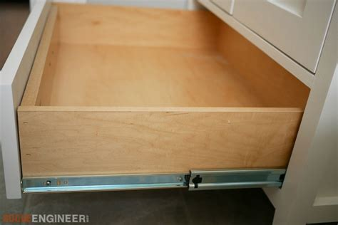 plywood drawer boxes how to build a simple drawer box rogue engineer 1559