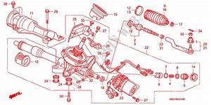 P S  Gear Box  Eps   Lh  For Honda Cars Civic 2 2 Comfort