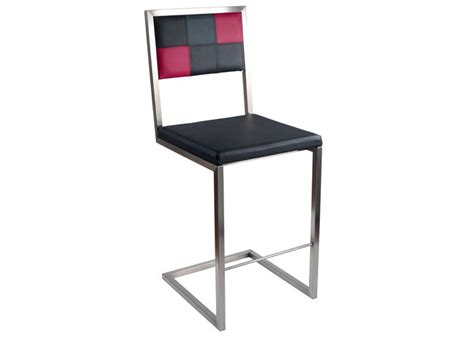 meubles cuisine inox chaise de bar echass pied