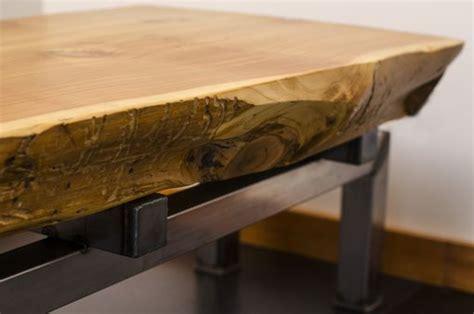 buy  hand crafted  edge cedar slab coffee table