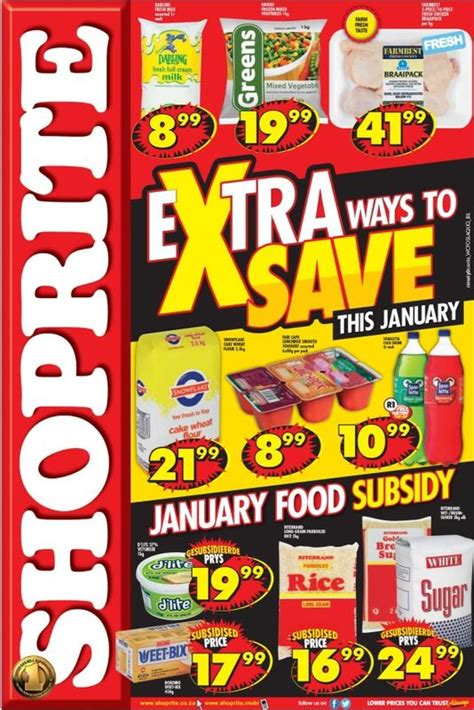 shoprite promotions  jan   jan  black