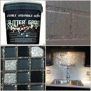 glitter grout yasss glittereverything lord help the man With best brand of paint for kitchen cabinets with broken mirror wall art