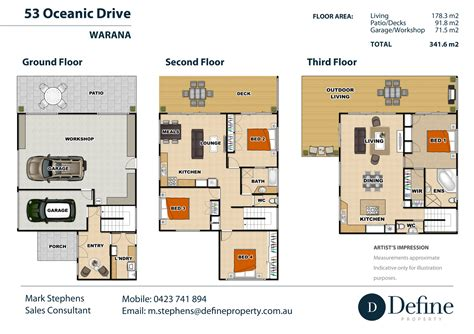house architectural  rendering sunshine coast qld