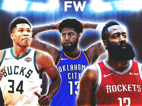The Only 5 Players Who Can Win The 2018-19 Mvp Award