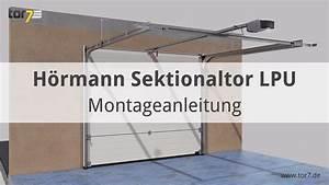 Hörmann Sektionaltor Einbauanleitung Pdf : montage eines h rmann garagen sectionaltor lpu renomatic light youtube ~ A.2002-acura-tl-radio.info Haus und Dekorationen