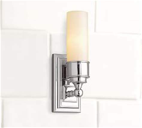 bathroom lighting fixtures pottery barn